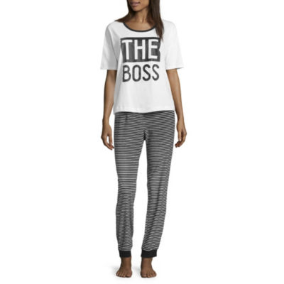 Sleepy Nites Boss 2 Piece Pajama Set -Women's