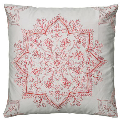 Rizzy Home Hunter Medallion Decorative Pillow