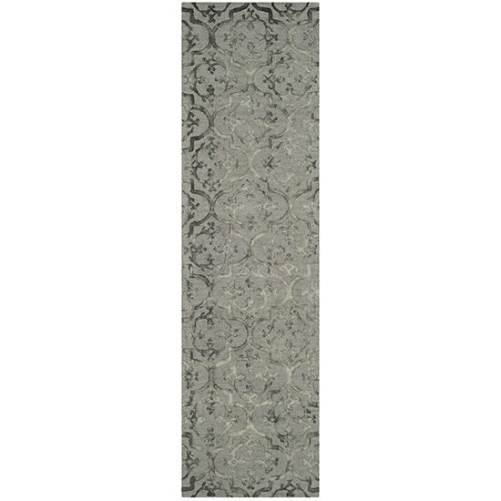Safavieh Dip Dye Collection Aniyah Damask Runner Rug