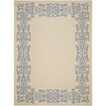 Safavieh Dara Oriental Rectangular Indoor/Outdoor Rugs