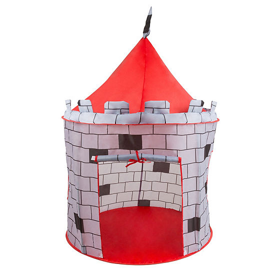 Hey! Play! Knight Castle Gray Play Tent