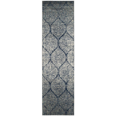 Safavieh Madison Collection Carmen Geometric Runner Rug