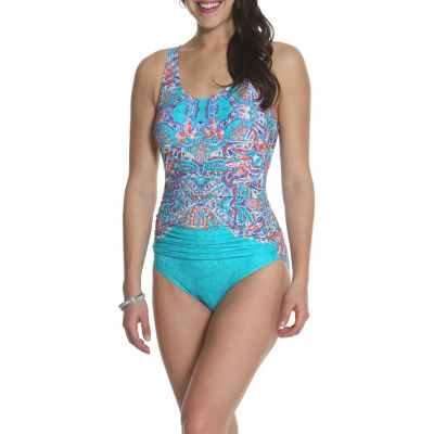 Sun and Sea Tapestry Dream One Piece  - Plus
