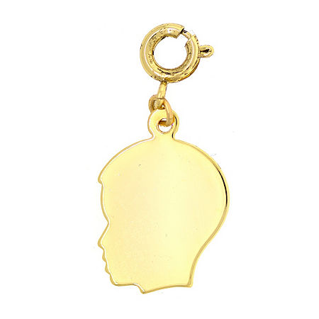 1928 Mother's Day Items Brass Charm, One Size , Yellow