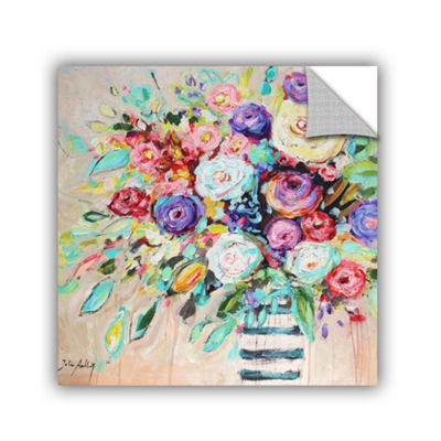 Vibrant Bouquet Removable Wall Decal
