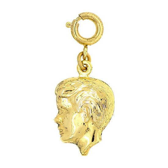 1928 Mother's Day Items Brass Charm