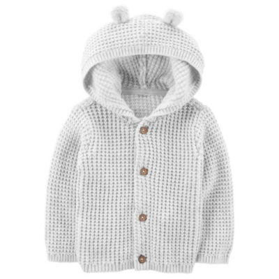 Carter's LBB Long Sleeve Hooded Neck Cardigan Unisex
