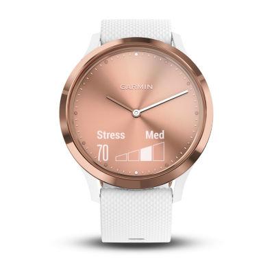 Garmin Vivomove HR Rose Gold/White Smart Watch-0100185012jcp