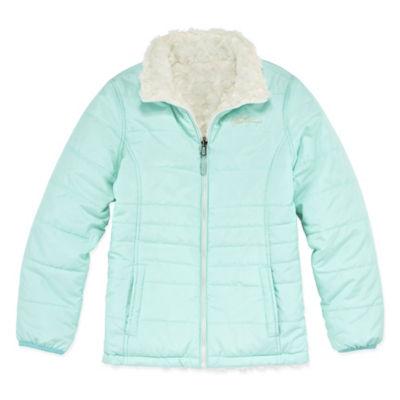 Weatherproof Midweight Reversible Puffer Jacket - Girls-Big Kid