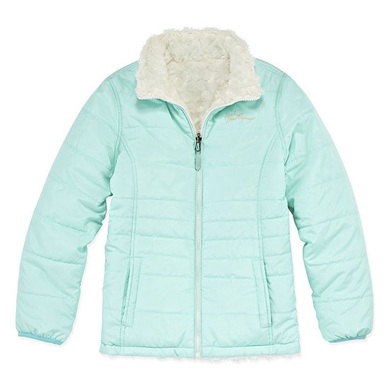 Weatherproof Midweight Reversible Puffer Jacket - Girls-Big Kid