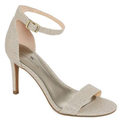 Worthington Womens Bristol Heeled Sandals