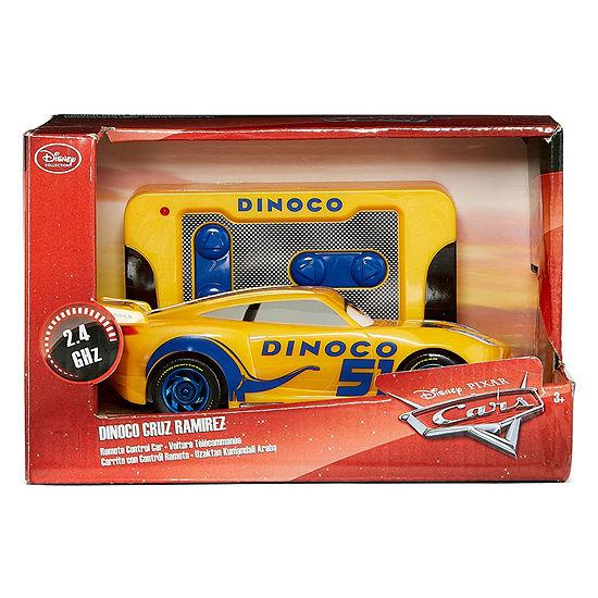 "Disney Collection Cars 3: Dinoco Cruz Ramirez 6"" Rc Car"""