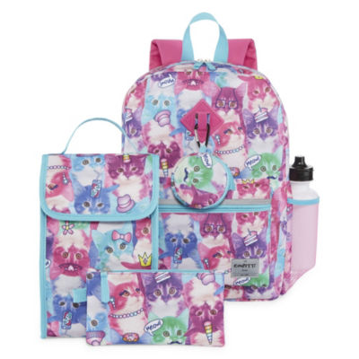 Photoreal Cat 6pc Backpack Set