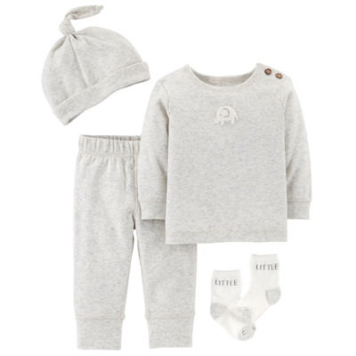 Carter's Little Baby Basics  4-pc. Layette Set-Baby Unisex