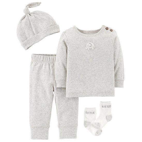 Carter's 4-pc. Baby Clothing Set-Baby Unisex