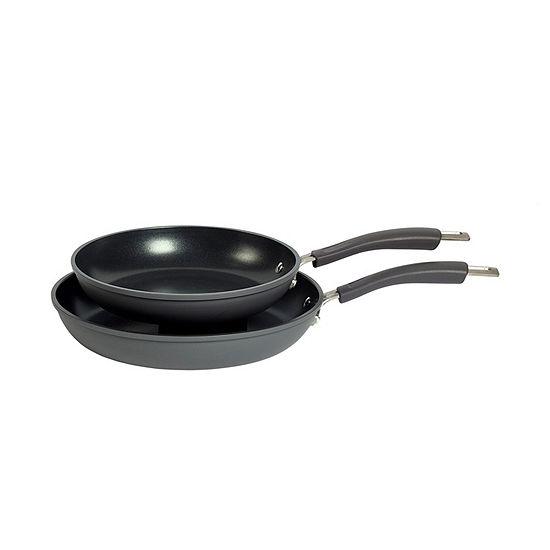 Epicurious 2-pc. Dishwasher Safe Non-Stick Frying Pan Set
