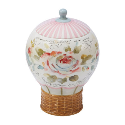 Certified International Beautiful Romance Cookie Jar