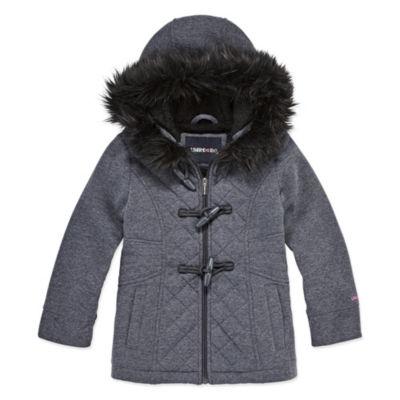 Limited Too Midweight Fleece Jacket-Big Kid Girls