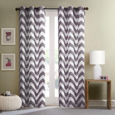 Gemini Grommet-Top Curtain Panel