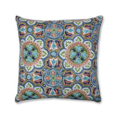 Pillow Perfect Lagoa Tile Flamingo 25-Inch Outdoor Floor Pillow