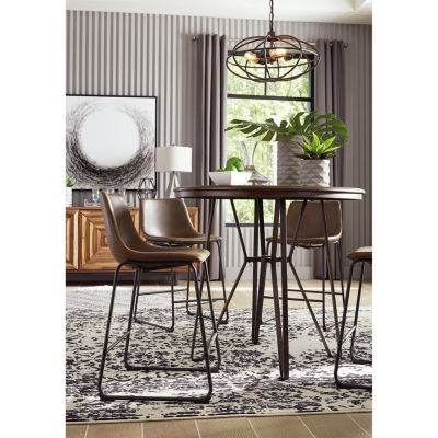 Signature Design by Ashley® Collins 5 Pc Counter Height Dining Set