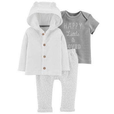 Carter's Little Baby Basics 3-pc. Layette Set - Unisex