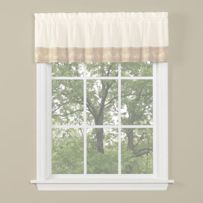 Timeless Rod-Pocket Tailored Valance