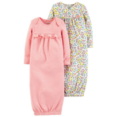 Carter's Little Baby Basics Long Sleeve Nightgown-Baby Girls