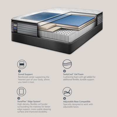 Sealy® West Plains LTD Cushion Firm Pillowtop - Mattress + Box Spring