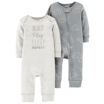 Carter's Little Baby Basics 2-pk. Jumpsuit - Boys