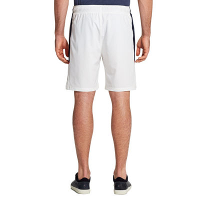 IZOD Mens Mid Rise Stretch Moisture Wicking Elastic Waist Pull-On Short