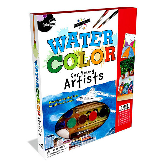 spicebox petit picasso watercolor painting kit jcpenney