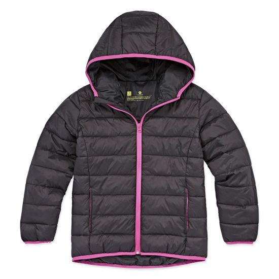 Xersion Midweight Puffer Jacket - Big Girl & Plus