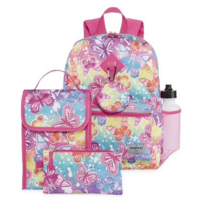 Butterfly 6pc Backpack Set