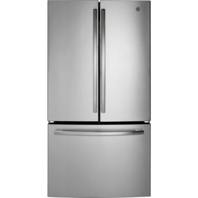 GE® ENERGY STAR® 27.0 Cu. Ft. French-Door Refrigerator with full-width Deli Drawer and Internal Water