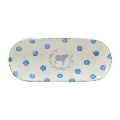 Certified International Urban Farmhouse Serving Tray