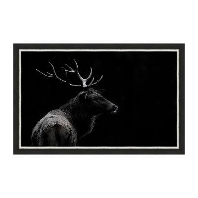 The Deer Soul Framed Canvas Art