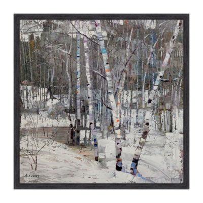 Wintertide Framed Canvas Art