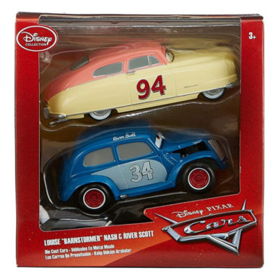 "Disney 2-pc. Cars Louise ""Brainstormer"" Nash & River Scott"