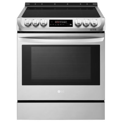 LG 6.3 cu. ft. Smart Wi-Fi Enabled Induction Slide-in Range with ProBake Convection® and EasyClean®