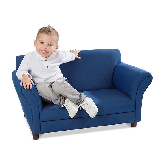 Melissa & Doug ® Denim Child's Sofa
