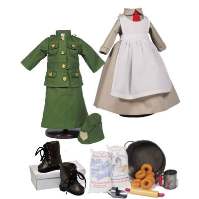 The Queen's Treasures WWI Army 18 Inch Doll Clothes & Accessories