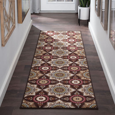 Tayse Majesty Teddy Runner Rug