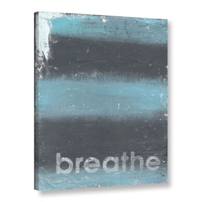 Brushstone Breathe Gallery Wrapped Canvas