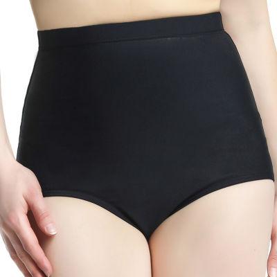 Phistic Women'S Upf 50+ High Waist Tummy Control Swim Bottom