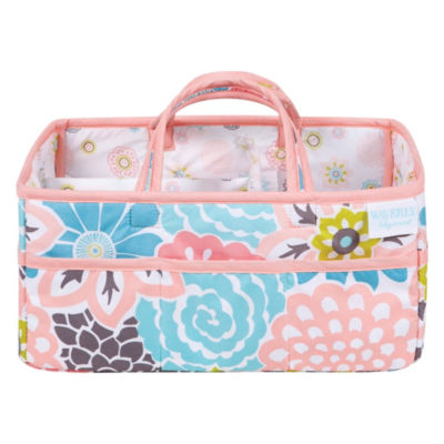 Waverly Blooms Diaper Caddy