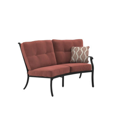 Outdoor by Ashley® Burnella Right-Arm Facing Patio Loveseat with Cushion