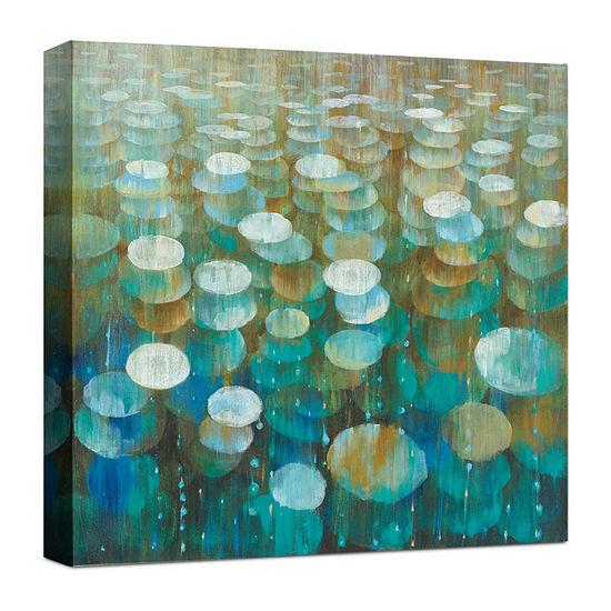 Rain Drops Canvas Art