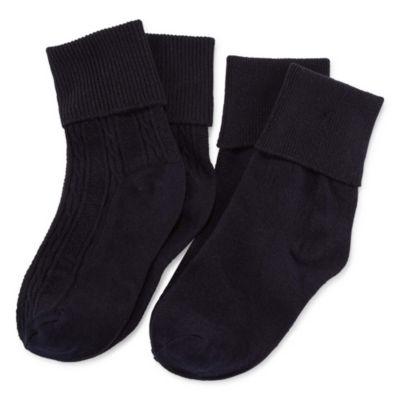Arizona 2 Pair Uniform Turncuff Socks