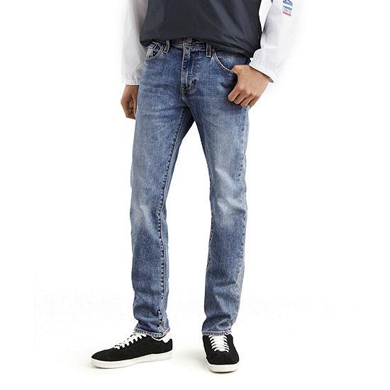 Levi's Mens Low Rise 511 Stretch Slim Fit Jean